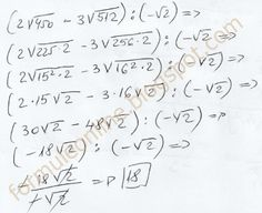 formuleonline probleme si exercitii rezolvate: Impartirea radicalilor clasa a 7-a exercitiu rezol... Chemistry, Physics, Math Equations, School, Easy, Physique
