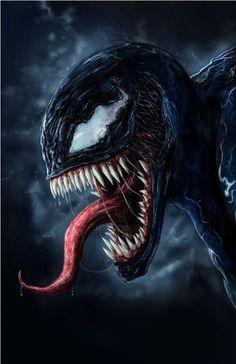 Venom by NerijusByt on DeviantArt Dc Comics Superheroes, Marvel Comics Art, Marvel Comic Universe, Marvel Heroes, Marvel Avengers, Spiderman Venom, Spiderman Art, Amazing Spiderman, Spiderman Wallpaper 4k