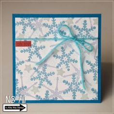 Card#0558 - TAWS - The Alley Way Stamps - clear stamps - Snow Daze set