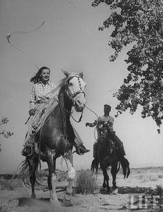 1940's Ella Raines.