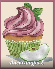Вкусное-вкусное схема для вышивки