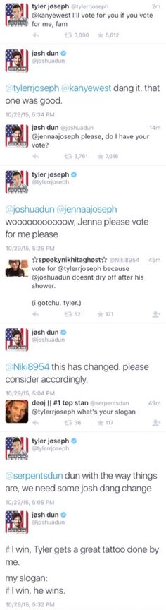 Dun with the way things are,we need some Josh dang change