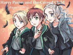 Harry Potter And The Cursed Child. by sena1923.deviantart.com on @DeviantArt
