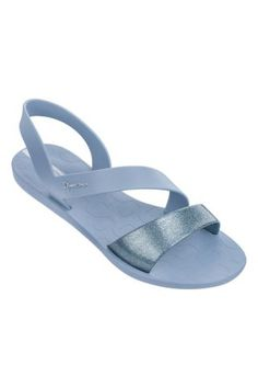 Ipanema / Different. Foot Love, Glitter Sandals, Beach Ready, Open Toe, Pairs, Chic, Stylish, Sneakers, Blue