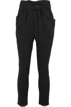 ISABEL MARANT Igorchic Linen-Blend Tapered Pants. #isabelmarant #cloth #pants