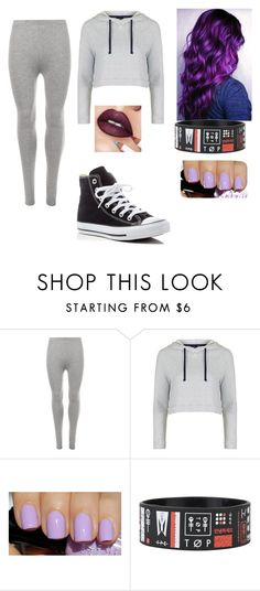 """""""5-17-16"""" by trinitymahomie on Polyvore featuring WearAll, Topshop, Sephora Collection and Converse"""