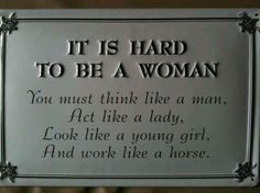 That's the damn truth!!!! If there is any truth to reincarnation I am so coming back Male in the next life!!!