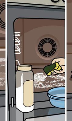 Uunin puhdistus – katso kuvalliset ohjeet | Meillä kotona