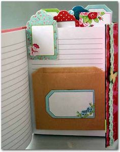 Using Tags as Tabs - Emma's Paperie: Spotlight on Kaisercraft by Sherry Wright