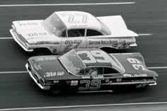 NASCAR back in the day.