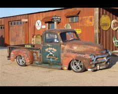 Sick patina truck