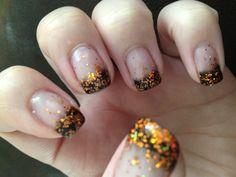 Gorgeous gel nail polish art using Couture Gel Nail Polish!