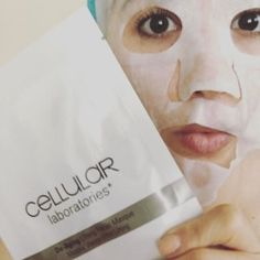 Boo! It's time for a de-aging, moisture rich, lifting facial masque. 👻👻 . #facial #mask #masque #moisture #skin #skincare #cellularlaboratories #deaging #antiaging #prevention #hydration #boo #scary #monster #sheet #sheetmask #motivescosmetics #makeupartist #mua