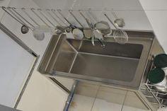 q Sink, Kitchen, Home Decor, Industrial Kitchens, Sink Tops, Vessel Sink, Cooking, Decoration Home, Room Decor