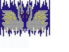 Картинки по запросу украшения из бисера схемы плетения