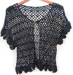 Ravelry: Summer: LACY CROCHET TOP pattern by Larisa Vilensky
