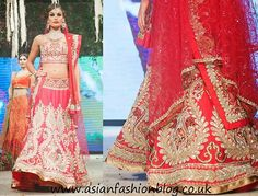 Enticing Red Silk Bridal Lehenga shop it at andaazcollectionscanada India Fashion, Ethnic Fashion, Ethnic Sarees, Lehenga Collection, Indian Couture, Bridal Outfits, Bridal Lehenga, Bollywood Fashion, Indian Outfits
