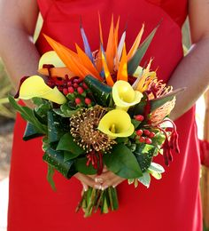 tropical bridal bouquets | tropical daydream wedding photos tropical smiles or a tropical ...