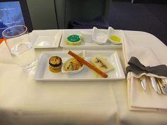 機内食 : 成田-フランクフルト・JALファーストクラス / In-flight meal・NRT-FRA,Firstclass (JL)