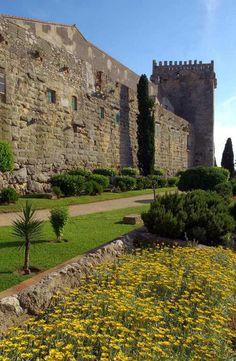 Muralla fortificada de la ciudad romana de Tarragona, Catalunya, Spain.