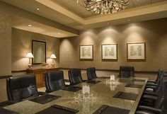 Meet, eat, & retreat for less! Santa Clarita, CA offers the location, amenities and value you look for when planning your next event. Santa Clarita, Executive Office, Room Interior, Regency, Valencia, Board Rooms, Church Ideas, Office Ideas, Conference Room