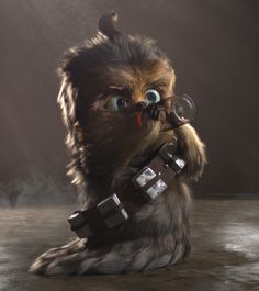 Baby Chewbacca by  Thales Simonato