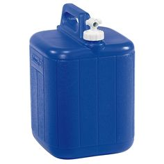 Coleman Jug With Water Carrier, 5 Gallons, Blue -- Want additional info? Click on the image.