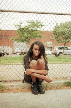 Angel Haze discusses her early debut. Listen up. Tips: Black Dahlia. Listen.