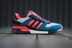 adidas Originals ZX 630 Blue/Red Zest #adidas #sneaker #men #style #colored #blue #red #nice #cool