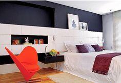 Design your bedroom completely - interior design tips - Home Decoration Bedroom Designs For Couples, Romantic Bedroom Design, White Bedroom Design, Design Your Bedroom, Master Bedroom Interior, Bedroom Red, Bedroom Vintage, Modern Bedroom, Couple Bedroom