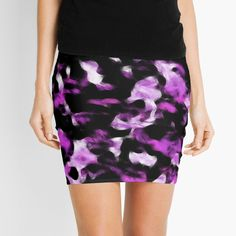Pink abstract camouflage design. #skirt #camoskirt #pinkcamoskirt #camouflageskirt #urbanskirt #urbanfashion #fashion #cr6zym1nd