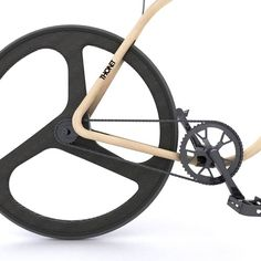 Wooden bike is designed by dutch chair company thonet and london designer andy martin. Bike is made from beech wood which is built by steam bending process Wooden Bicycle, Wood Bike, Bike Craft, Range Velo, Fixed Gear Bicycle, Bent Wood, Bike Style, Bicycle Design, Vintage Bikes