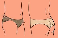 9 Types Of Underwear You Probably Own Culottes, Underwear, Type, Buzzfeed, Sim, Illustrations, Vape Tricks, Girls Girls Girls, World