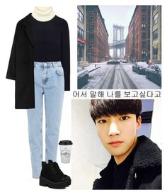 """""""Untitled #826"""" by oned-rita3 ❤ liked on Polyvore featuring Acne Studios and Pull&Bear"""
