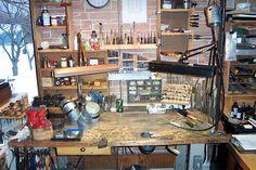 Jeffrey Herman Silversmith: Shop View #1