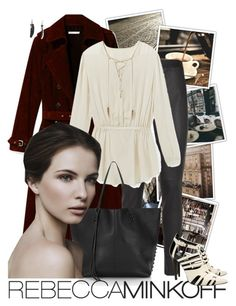"""RM"" by nikkeeb ❤ liked on Polyvore featuring Barker, Rebecca Minkoff and RMSF"