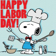 Snoopy Labor day