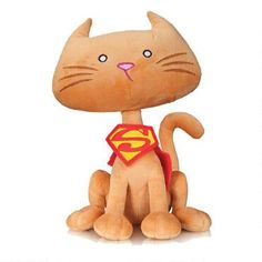 It's Supergirl's faithful pet Streaky! - DC Comics Super-Pets Streaky Plush | ShopDCEntertainment.com