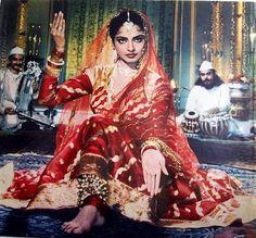 """Rekha in """"Umrao Jaan"""" {1981}"""