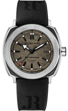 Jean Richard Terrascope GreyBronze Dial #WatchConnection #Watches #Professional #Ican #DailyWatch #WatchOfTheDay #Inspiration #classy #wristwatch #RealSmartWatch #PhotoOfTheDay #Love #instagood #me #luxury #success #MenWithStyle #WatchPorn #MensFashion #MensWatch #CostaMesa #OrangeCountyCa