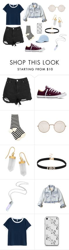 """Dream"" by layaneleitth on Polyvore featuring moda, Boohoo, Converse, Yohji Yamamoto, Illesteva, BillyTheTree, Hollister Co. e Sole Society"