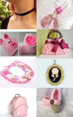 Pink Dreams by Miaudesign.Co on Etsy--Pinned with TreasuryPin.com