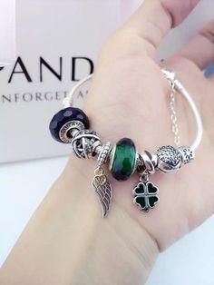 50% OFF!!! $199 Pandora Charm Bracelet. Hot Sale!!! SKU: CB01427 - PANDORA Bracelet Ideas