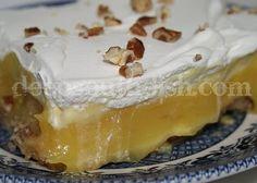 Layered Banana Cream Pie Dessert
