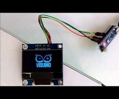 Arduino Nano: Bitmap animation in SSD1306 I2C OLED Display with Visuino Detailed step by step instructions on how to connect I2C SSD1306 OLED Display to Arduino Nano, add programm it with Visuino to do move around Bitmap animation :-) #Arduino #Visuino #OLED