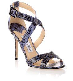 Lottie blue elaphe sandal Jimmy Choo - Savannah's