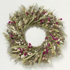 The prettiest of spring garden wreaths! You are in the right place about spring garden drawing Here Christmas Mesh Wreaths, Easter Wreaths, Holiday Wreaths, Diy Spring Wreath, Diy Wreath, Tulle Wreath, Burlap Wreaths, Door Wreaths, Dried Flower Wreaths