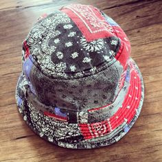 664adf42ada CUSTOM BUCKET HAT    Bandana print bucket hat with enzyme wash. Visit  thesaucesuppliers.