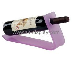 L shaped wine display WD-022
