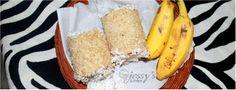 GOTHAMBU PUTTU ( Whole Wheat Flour Steam Cake ) | JessysKitchen.com Steamed Cake, Whole Wheat Flour, Grains, Vegetarian, Banana, Fruit, Recipes, Food, Recipies